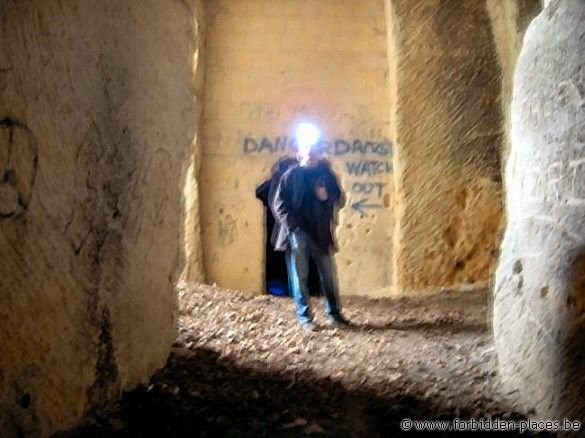 Caestert underground quarries - (c) Forbidden Places - Sylvain Margaine - Bulb head