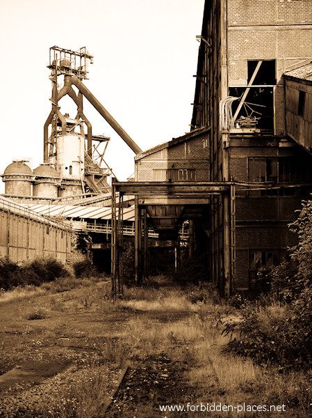 The Clabecq Steelworks - (c) Forbidden Places - Sylvain Margaine - 1