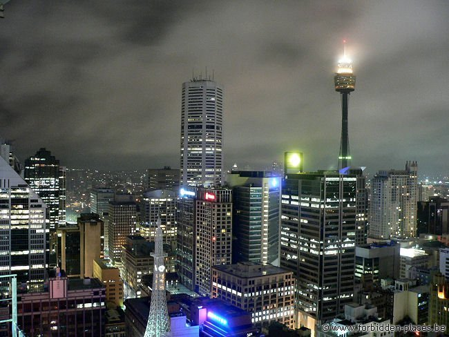 Australian rooftops - (c) Forbidden Places - Sylvain Margaine - Sydney, Central Business District