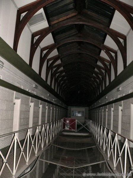 H.M. Melbourne's Pentridge prison - (c) Forbidden Places - Sylvain Margaine - 3rd Floor. We entered via the roof. Pretty high...