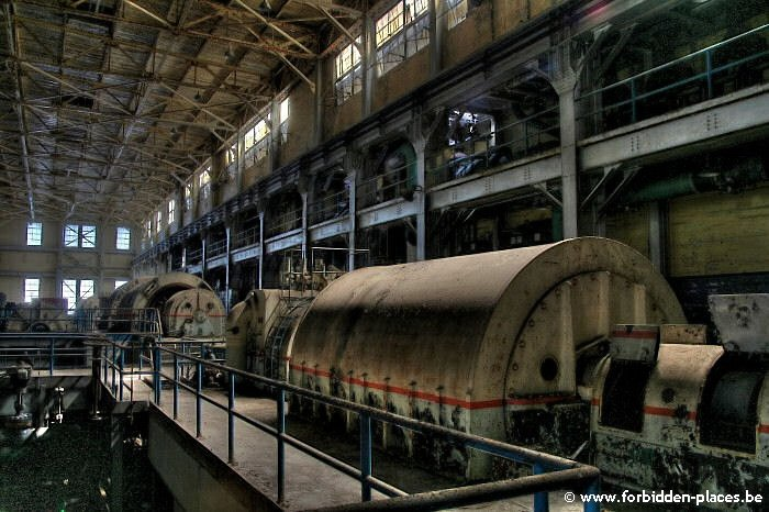 Westport power plant - (c) Forbidden Places - Sylvain Margaine - The most recent turbine hall