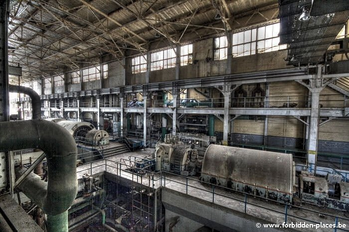 Westport power plant - (c) Forbidden Places - Sylvain Margaine - Higher view