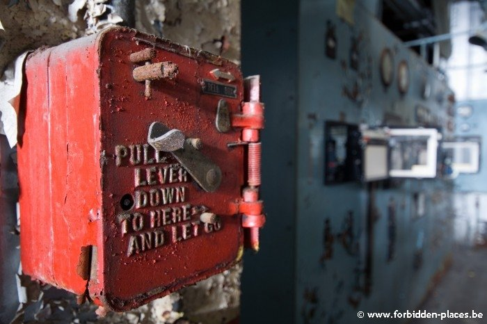 Westport power plant - (c) Forbidden Places - Sylvain Margaine - Fire safety