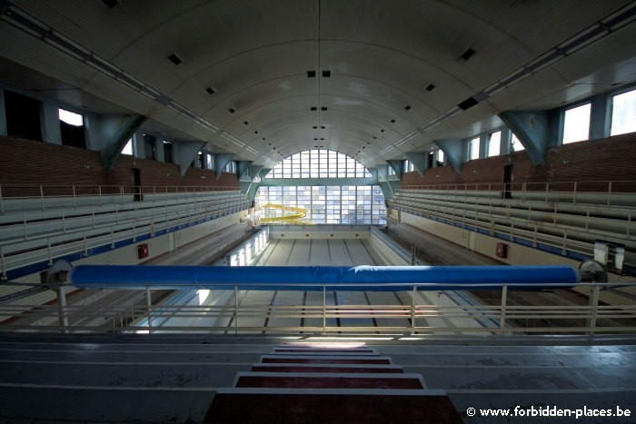 La piscina de la Sauvenière - (c) Forbidden Places - Sylvain Margaine - The great vaulted pool
