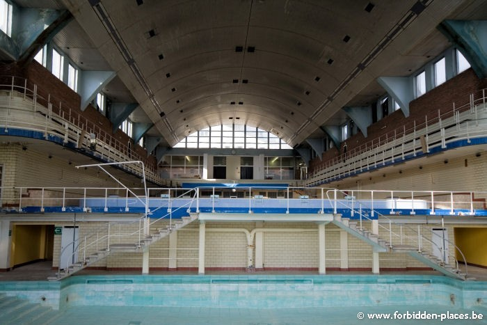 The Sauvenière's swimming-pool - (c) Forbidden Places - Sylvain Margaine - Children's pool