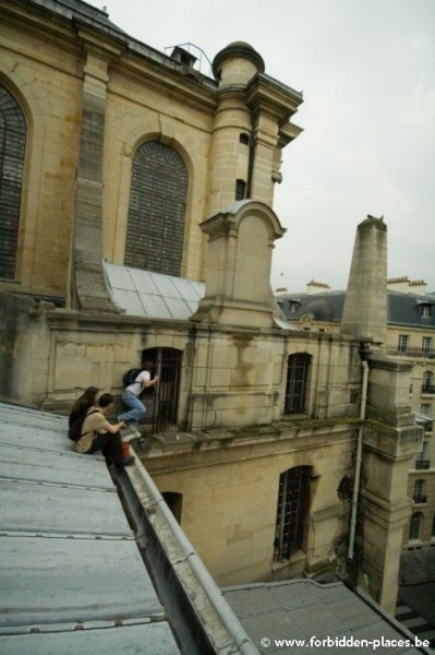 Les secrets de Saint Sulpice - (c) Forbidden Places - Sylvain Margaine - Exploration d'un appartement