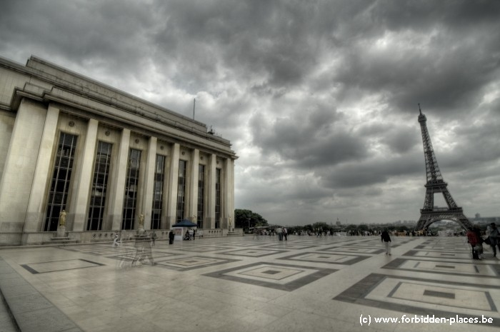 El palacio de Chaillot - (c) Forbidden Places - Sylvain Margaine - Outside 3