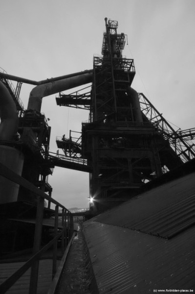 The mysterious steelworks - (c) Forbidden Places - Sylvain Margaine - Blast furnace