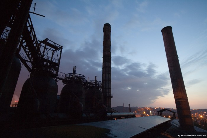 The mysterious steelworks - (c) Forbidden Places - Sylvain Margaine - Cowpers
