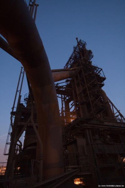 The mysterious steelworks - (c) Forbidden Places - Sylvain Margaine - BF again