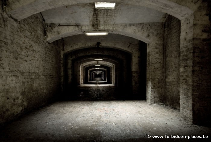 The abandoned crypt - (c) Forbidden Places - Sylvain Margaine - The long corridor