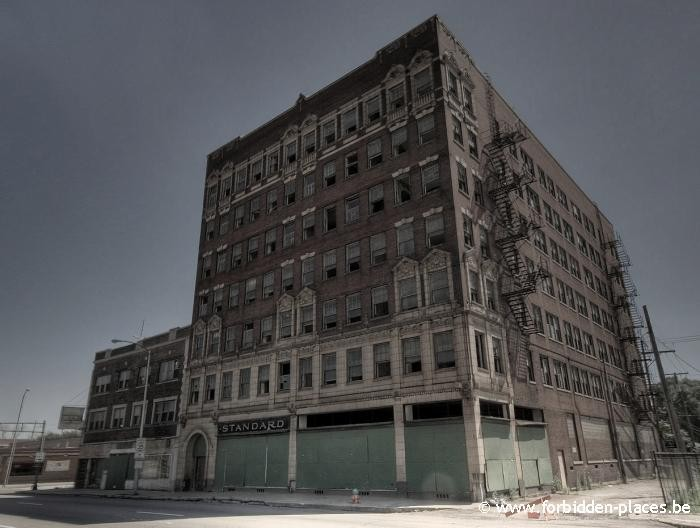 Gary, Indiana, ghost town - (c) Forbidden Places - Sylvain Margaine - 2