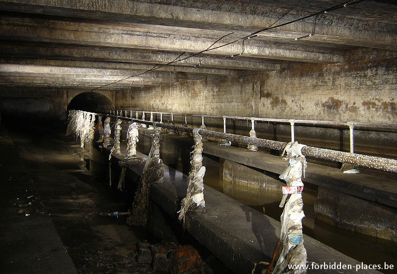 Brussels underground sewers and drains system - (c) Forbidden Places - Sylvain Margaine - Northern main sewer