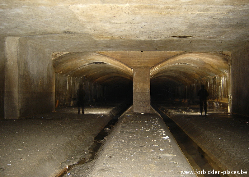 Brussels underground sewers and drains system - (c) Forbidden Places - Sylvain Margaine - The old river Senne