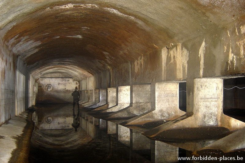 Brussels underground sewers and drains system - (c) Forbidden Places - Sylvain Margaine - Again, the river Senne