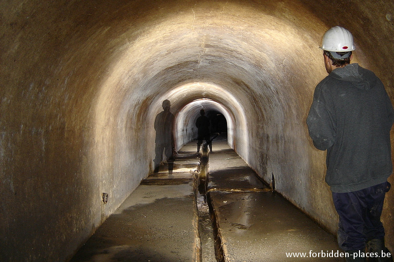 Brussels underground sewers and drains system - (c) Forbidden Places - Sylvain Margaine - Rat poison