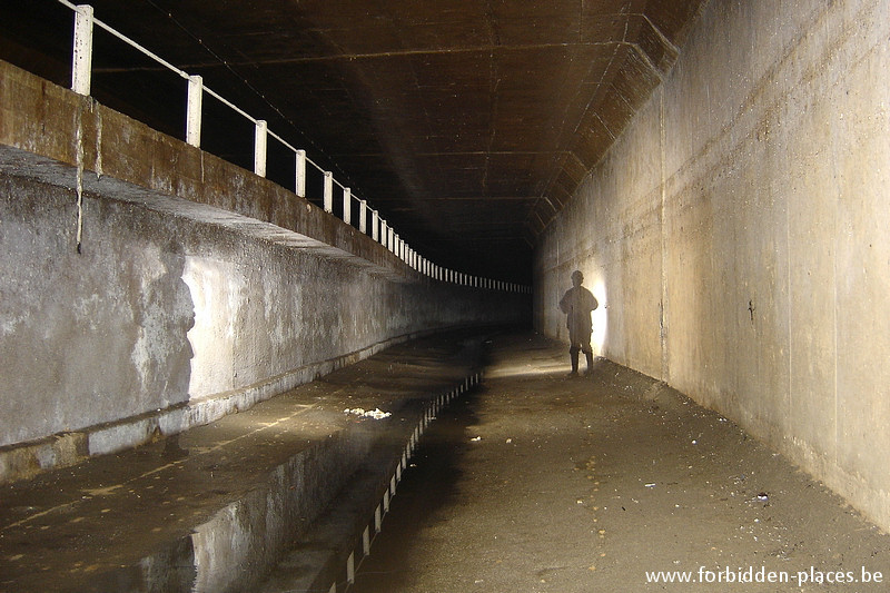Brussels underground sewers and drains system - (c) Forbidden Places - Sylvain Margaine - Old river Senne