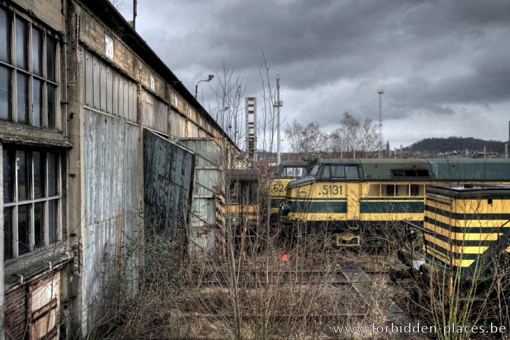 urban exploration locomotive 39 s graveyard. Black Bedroom Furniture Sets. Home Design Ideas