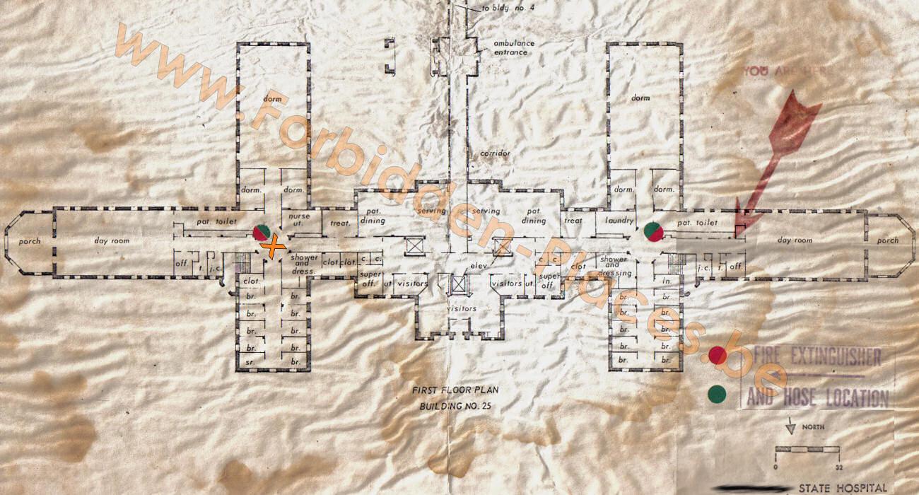 Va Hospital Utah Map.Urban Exploration Hospital X