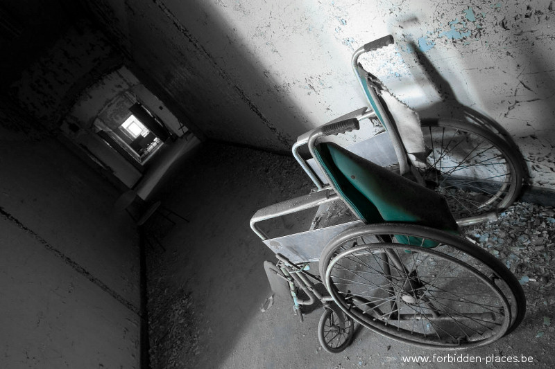 El hospital X - (c) Forbidden Places - Sylvain Margaine - 6 - Classic