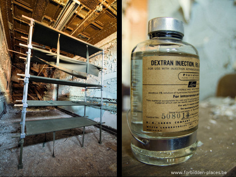 Hudson River State Hospital - (c) Forbidden Places - Sylvain Margaine - 22 - Injection