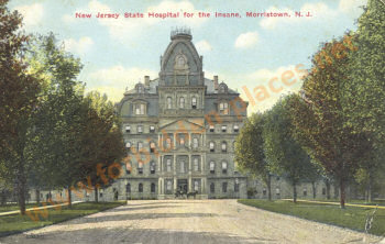New Jersey State Hospital for the Insane - Click to enlarge!