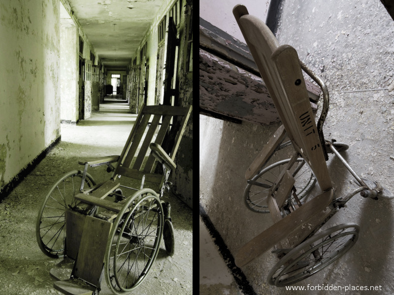 New Jersey State Hospital for the Insane - (c) Forbidden Places - Sylvain Margaine - 15 - Unit 5