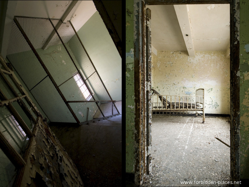 New Jersey State Hospital for the Insane - (c) Forbidden Places - Sylvain Margaine - 27 - Prison.