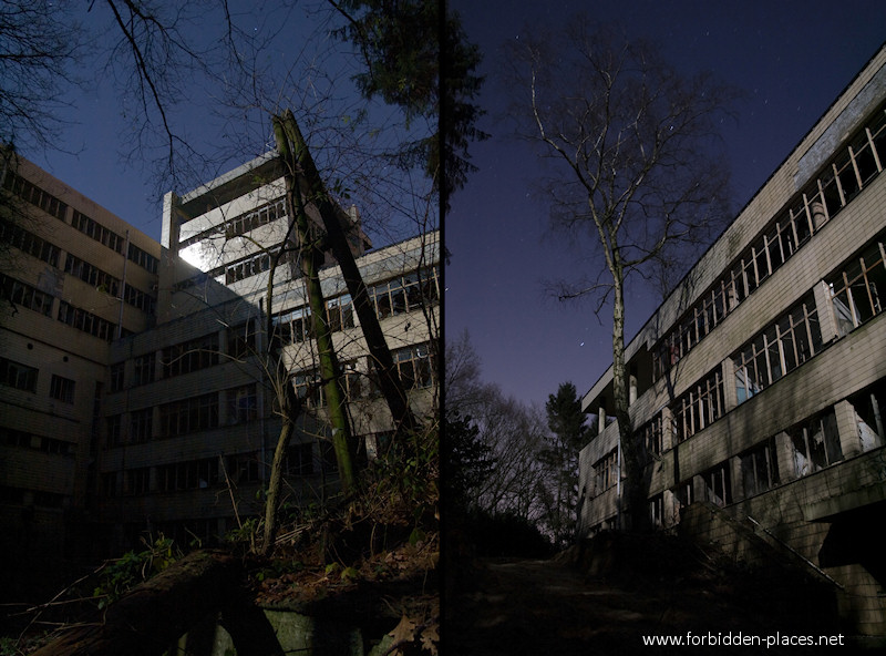 Joseph Lemaire's Sanatorium - (c) Forbidden Places - Sylvain Margaine - 5- Outside.