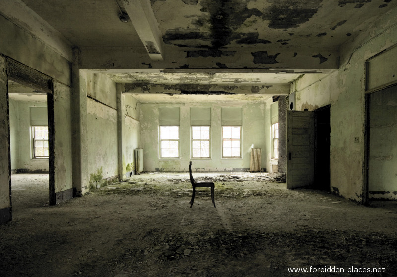 El asilo de Norwich - (c) Forbidden Places - Sylvain Margaine - 3- Solitude.