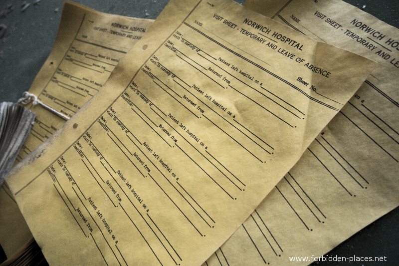 El asilo de Norwich - (c) Forbidden Places - Sylvain Margaine - 13 - Official documents.