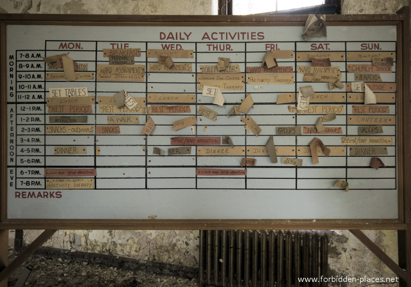 El asilo de Norwich - (c) Forbidden Places - Sylvain Margaine - 14 - Weekly program.