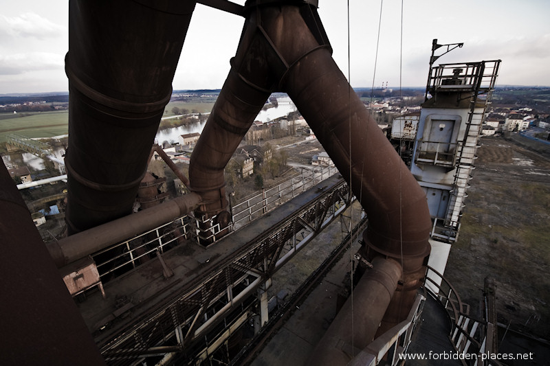 Uckange Blast Furnace - (c) Forbidden Places - Sylvain Margaine - 3- On top of the blast furnace n°4.