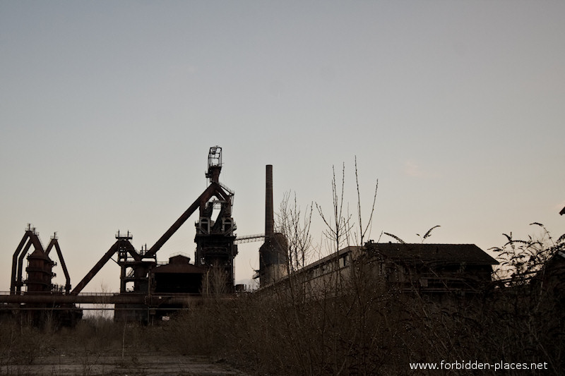 Uckange Blast Furnace - (c) Forbidden Places - Sylvain Margaine - 5- Global view.