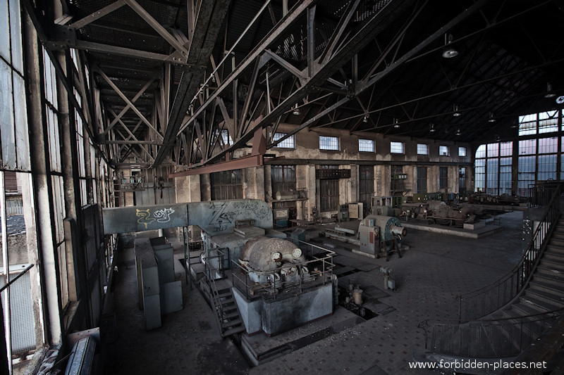 Uckange Blast Furnace - (c) Forbidden Places - Sylvain Margaine - 16 - Power plant VI.