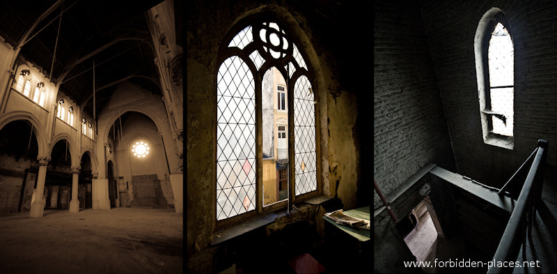 Ocho Iglesias En Bruselas - (c) Forbidden Places - Sylvain Margaine - 8 - The abandoned church in Ixelles.