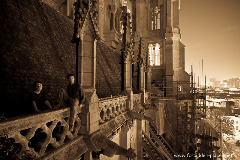 Eight Of Brussels' Churches - (c) Forbidden Places - Sylvain Margaine - 3 - Tchorski & Slyv