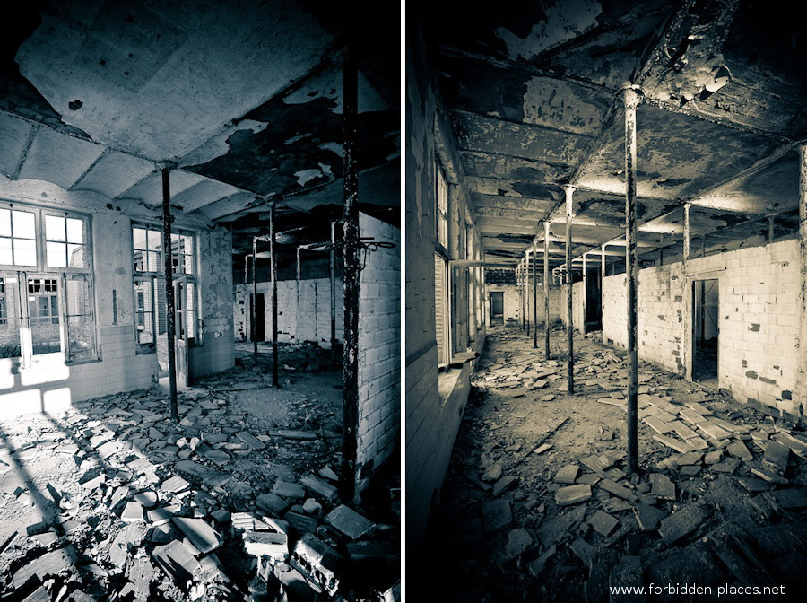 Sabinosa's Sanatorium - (c) Forbidden Places - Sylvain Margaine - 12 - Cold interiors.