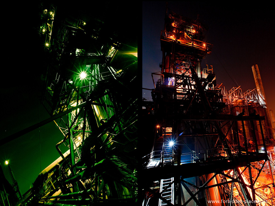 CdK's Blast Furnace - (c) Forbidden Places - Sylvain Margaine - 1- Welcome. The beast is watching us, from above...