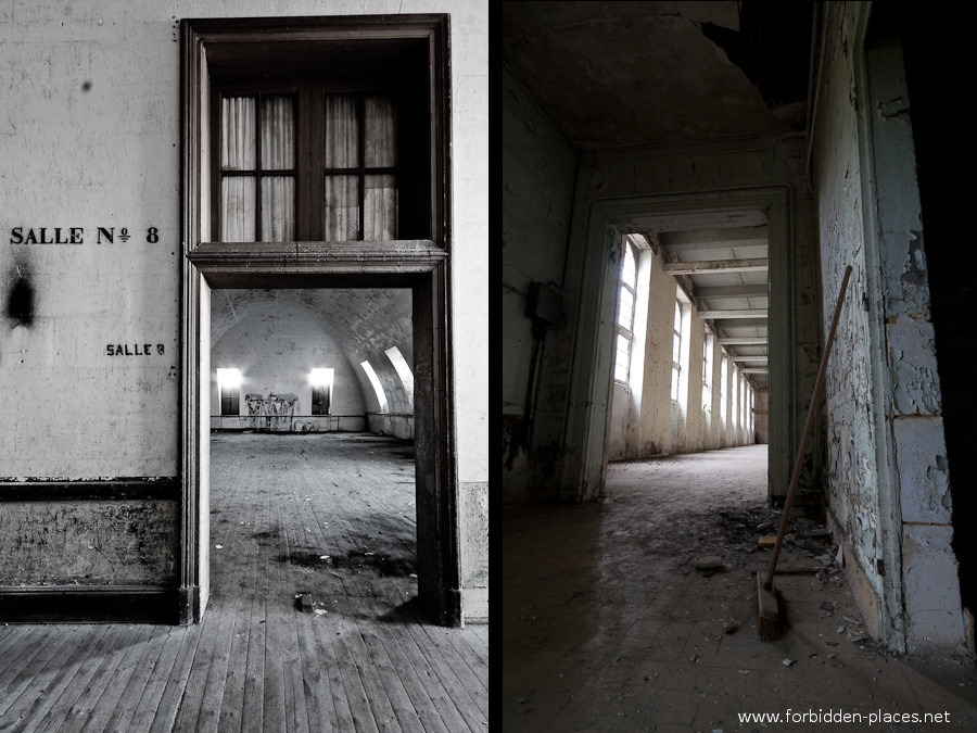 El Hospital de la Marina - (c) Forbidden Places - Sylvain Margaine - 4- Room number 8.