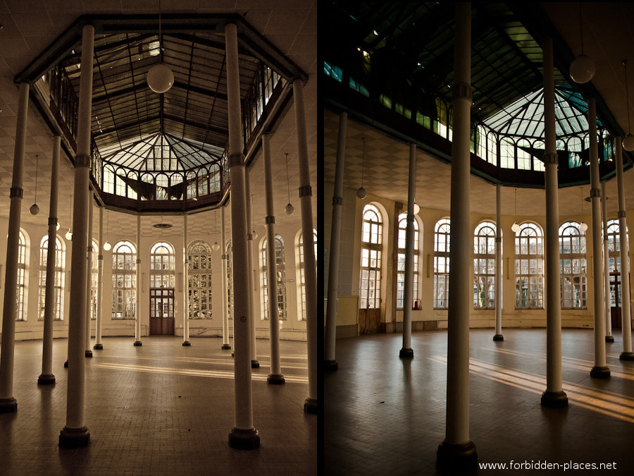 The Hôpital de la Marine - (c) Forbidden Places - Sylvain Margaine - 6- The ballroom.