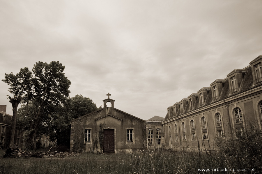 The Hôpital de la Marine - (c) Forbidden Places - Sylvain Margaine - 23 - The little chapel