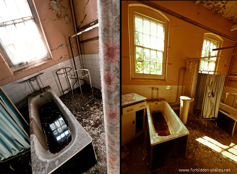 Cane Hill Asylum - (c) Forbidden Places - Sylvain Margaine - 3- Tubs.