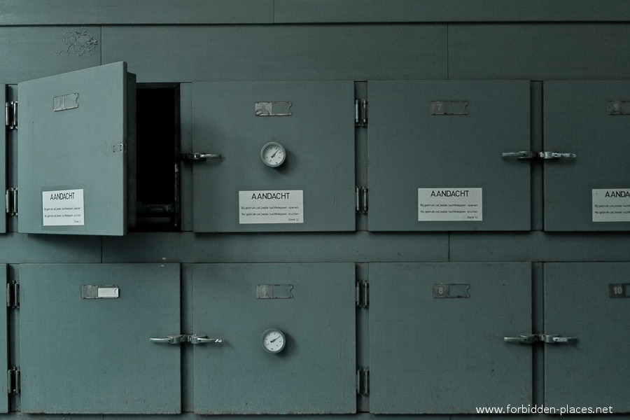 Antwerp's Forensic Institute - (c) Forbidden Places - Sylvain Margaine - 5- Corpse room.