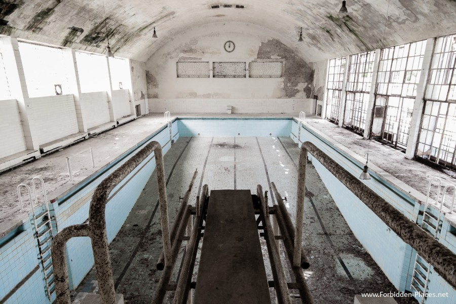 1936 Berlin's Olympic Village - (c) Forbidden Places - Sylvain Margaine - 11 - Diving.