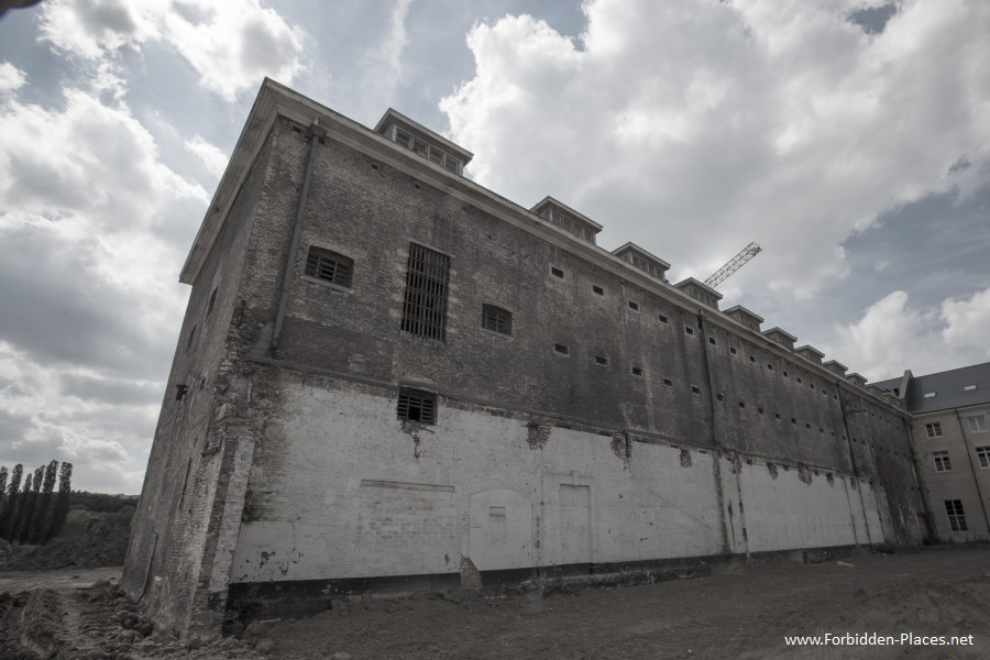 Vilvoorde Prison - (c) Forbidden Places - Sylvain Margaine -   11 - Demolition.