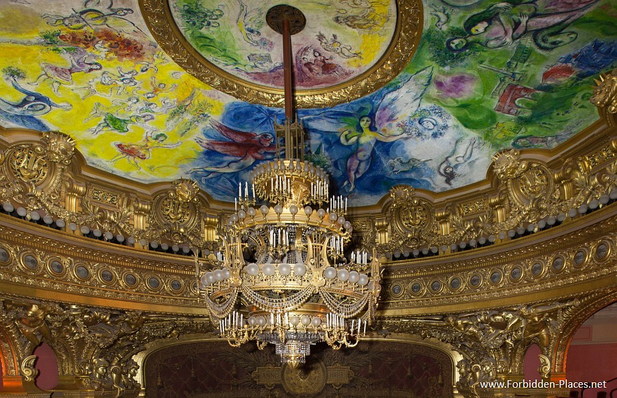 Palais Garnier Chandelier – Chandeliers Design:Urban Exploration The Palais Garnier,Lighting