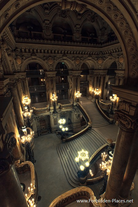 The Palais Garnier - (c) Forbidden Places - Sylvain Margaine - 11 - Balconies.