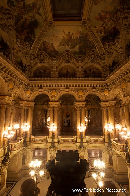 The Palais Garnier - (c) Forbidden Places - Sylvain Margaine - 13