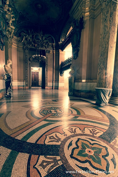 The Palais Garnier - (c) Forbidden Places - Sylvain Margaine - 15 - Mosaics.